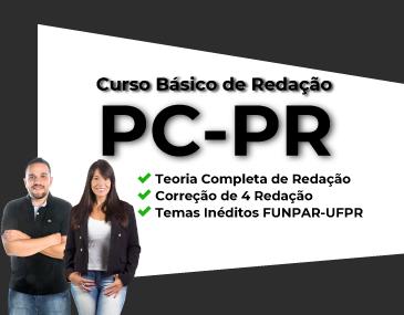 Curso Básico de Redação - PC-PR