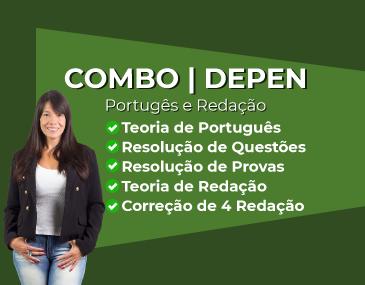 Combo Depen - Português e Redação