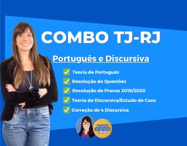 Combo TJ-RJ - Português e Redação